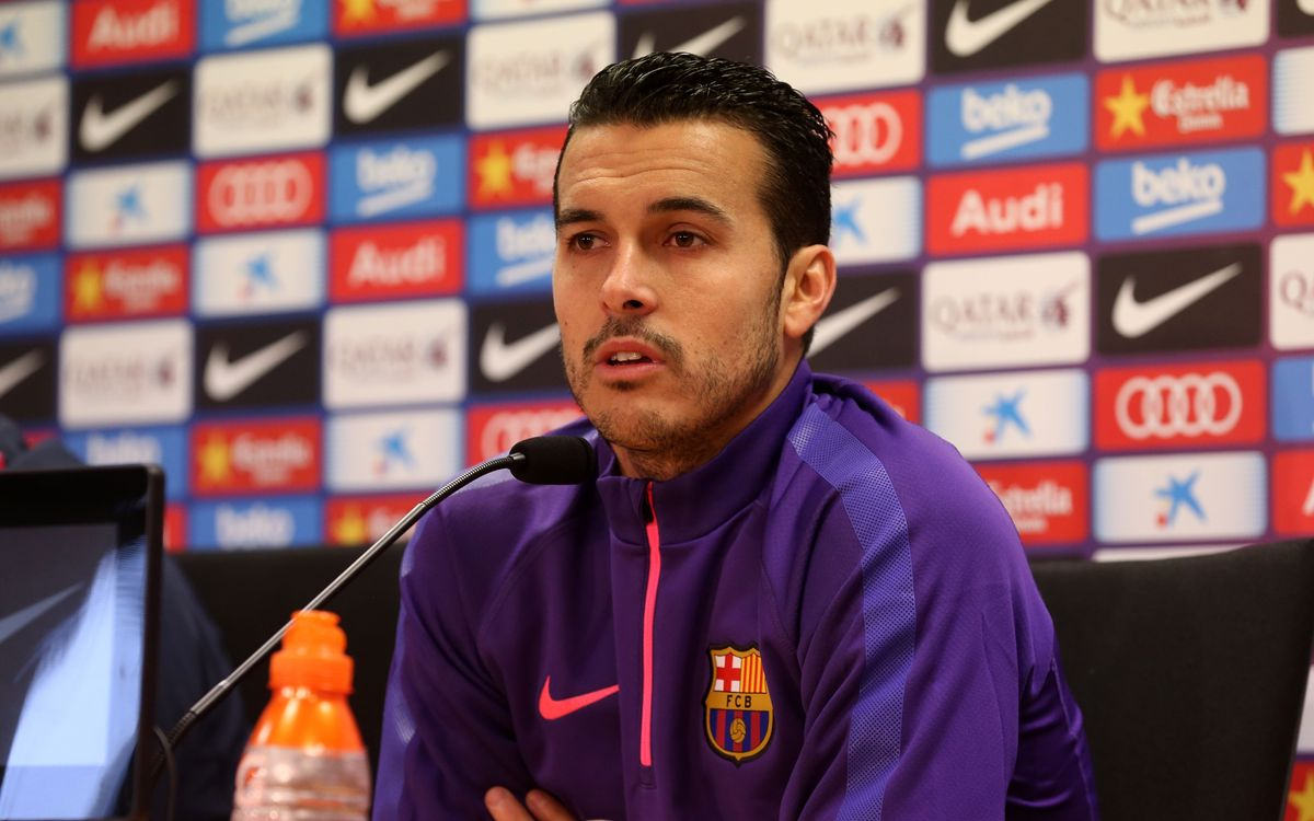 Pedro pleased to be with the world's best