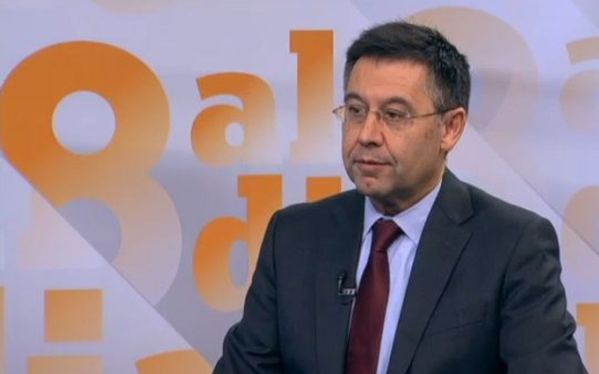 Josep Maria Bartomeu: Barça is under attack and we have to defend ourselves