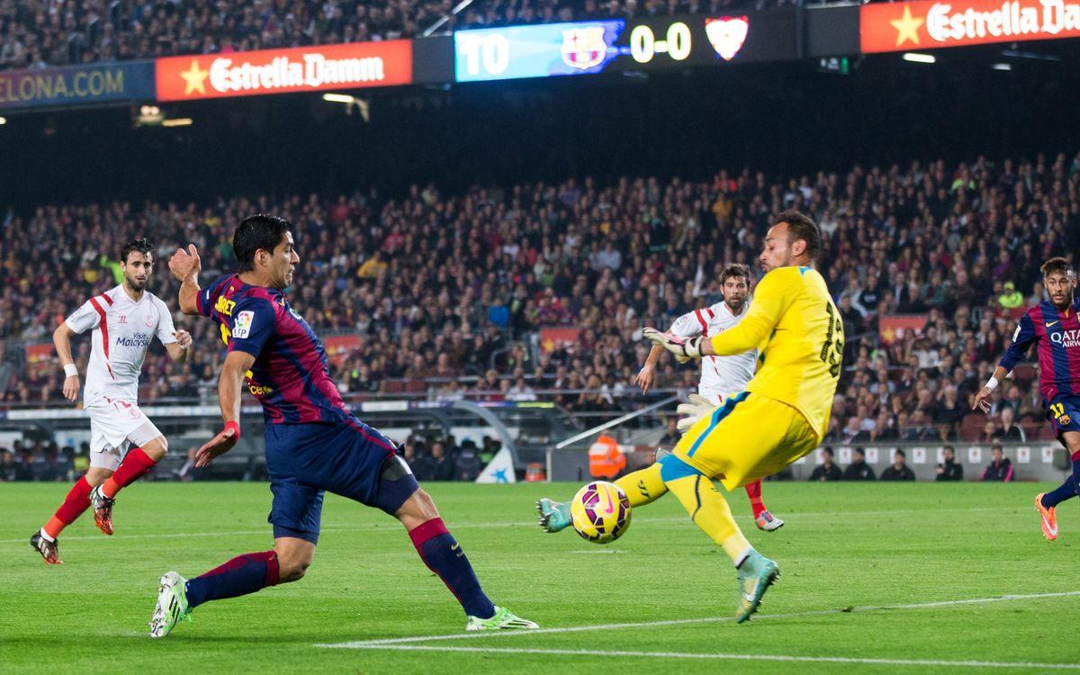 Goals galore at the Camp Nou