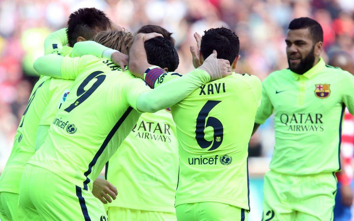 Les réactions d'après-match (Grenade - FC Barcelone)
