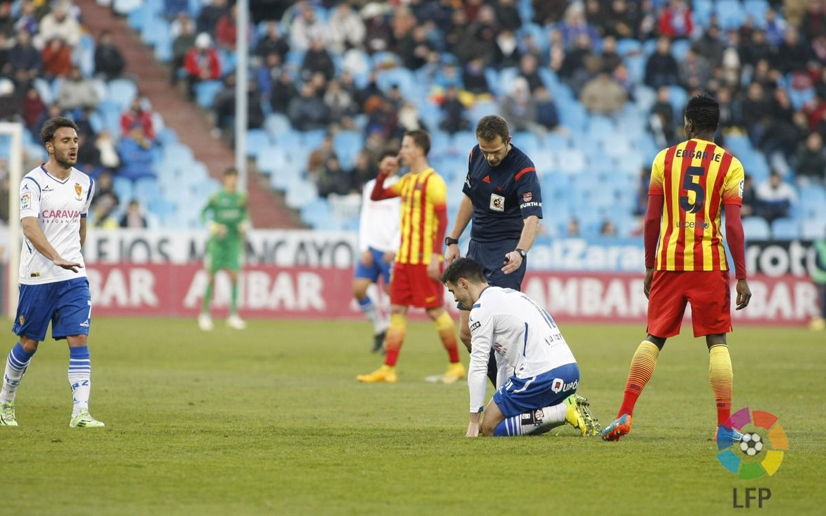 Barça B suffer 4-0 defeat at Zaragoza