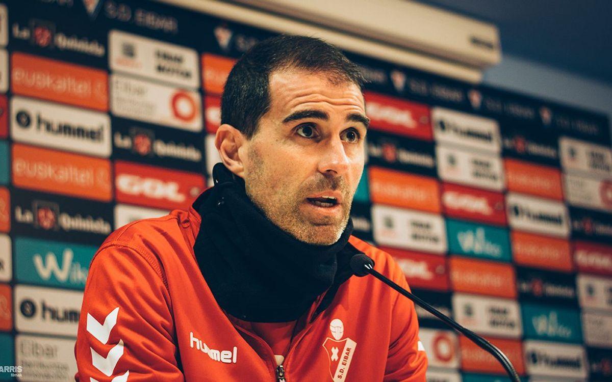 """Garitano: """"Tenim respecte cap al FC Barcelona, no por"""""""
