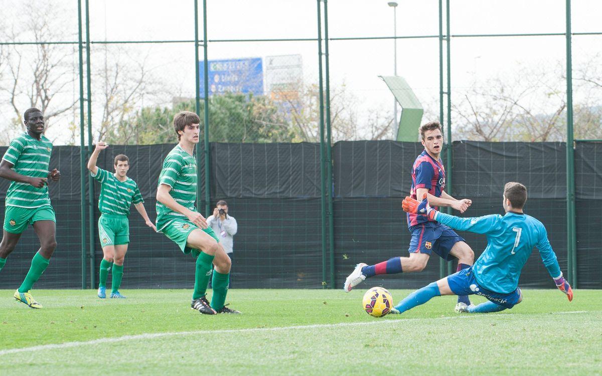 Juvenil A – UE Cornellà: Sisè triomf consecutiu (1-0)