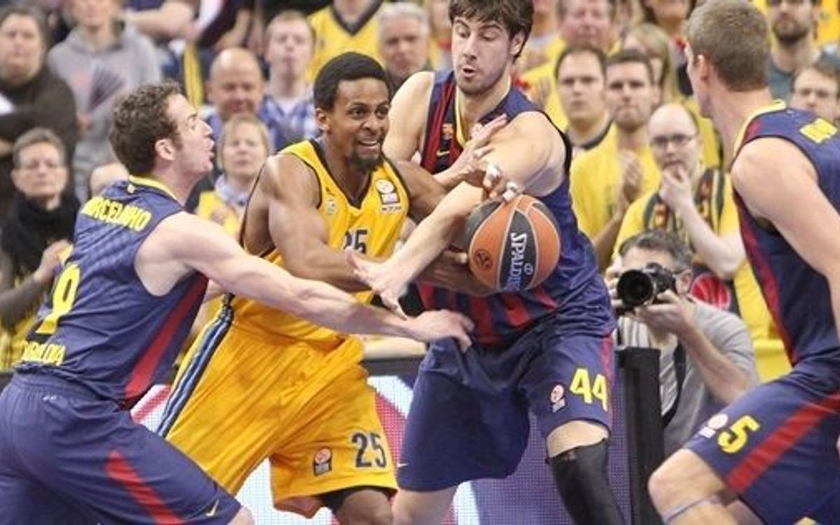 Alba Berlin - FC Barcelona: Mishap in Berlin (80-70)