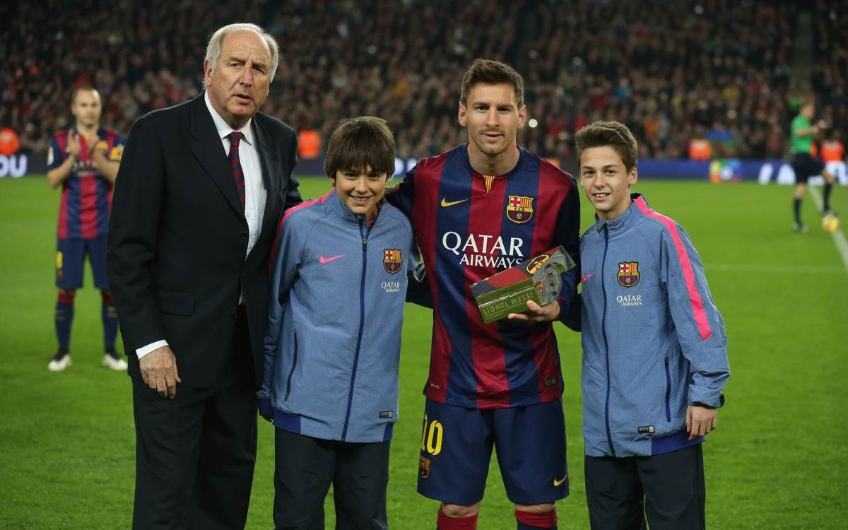 Messi recognised by the LFP as the league's all-time leading goalscorer