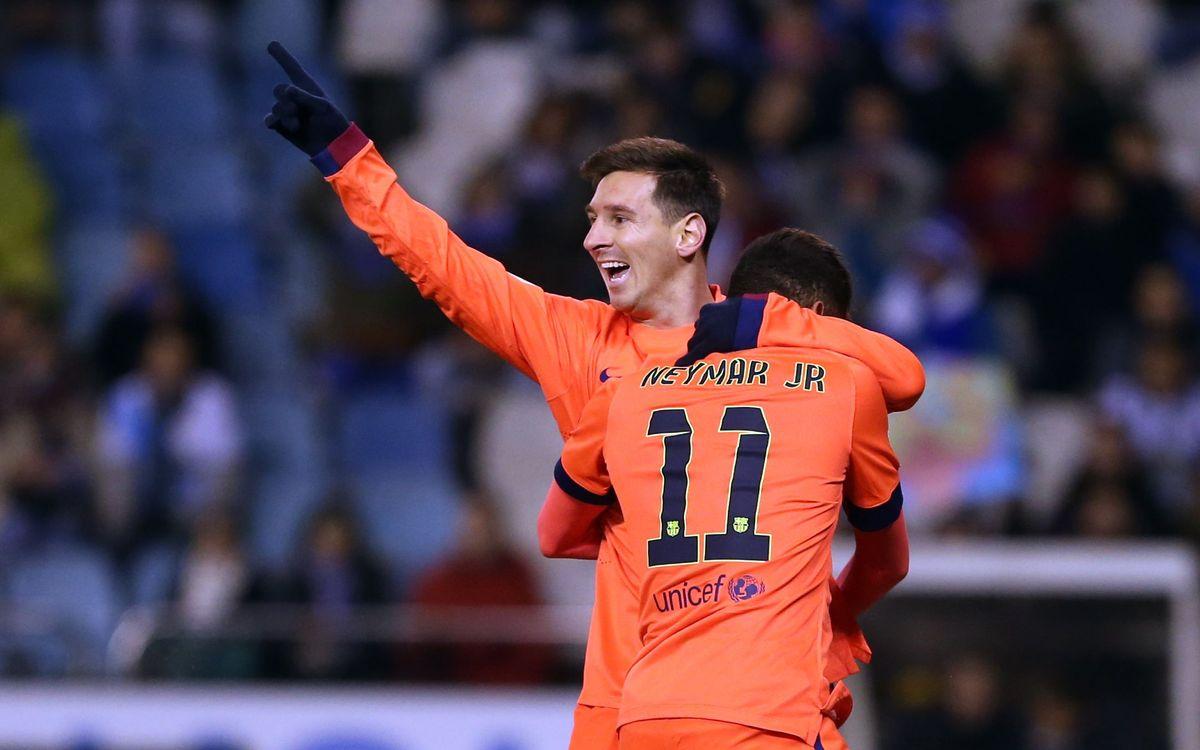 Deportivo la Coruña v FC Barcelona: Pure gold from Messi (0-4)