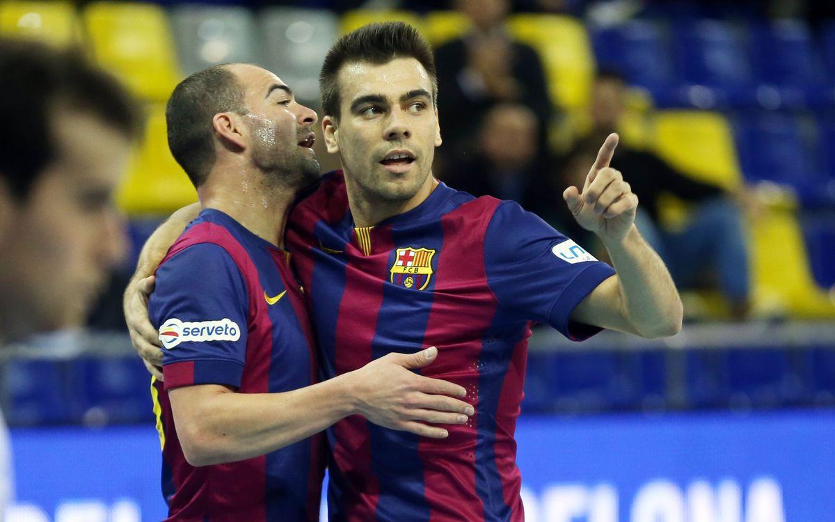 FC Barcelona Futsal pull out 4–3 victory at Palma