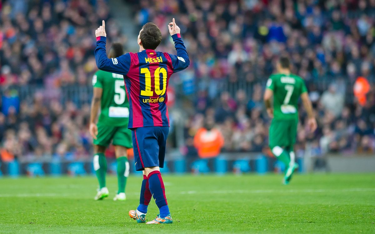 FC Barcelona - Levante (5-0): High five!