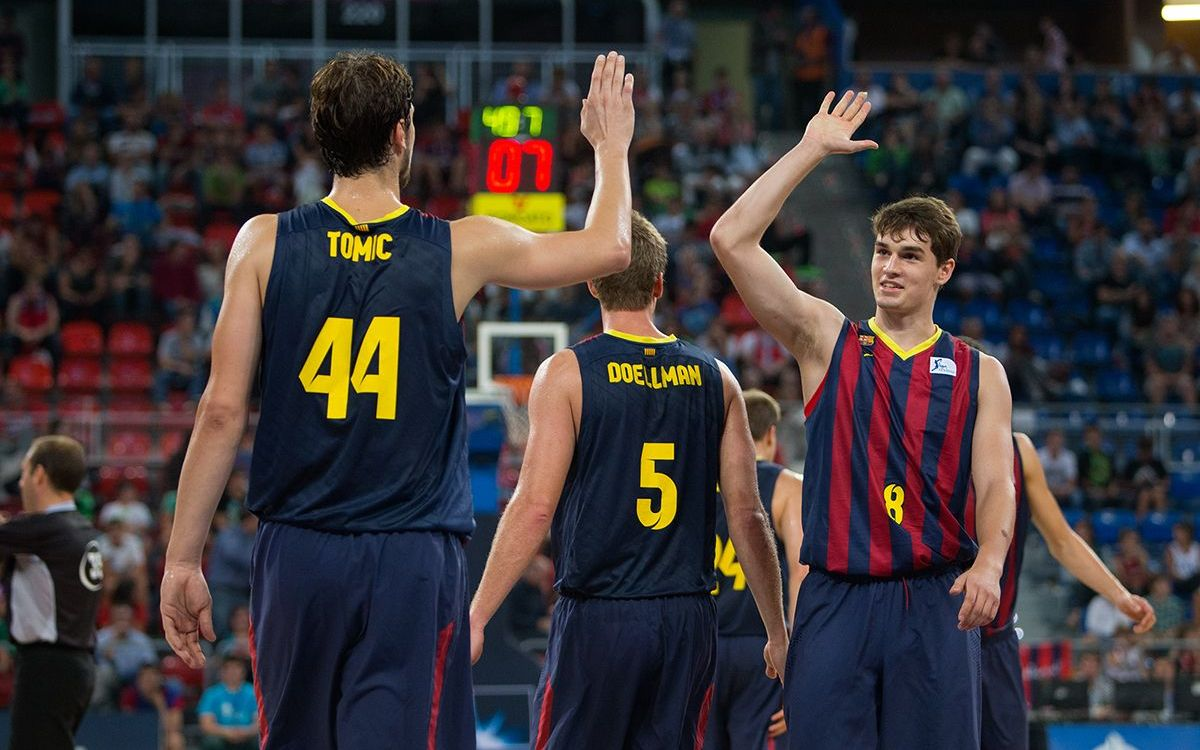 Laboral Kutxa v FC Barcelona: Spectacular qualification (66-95)