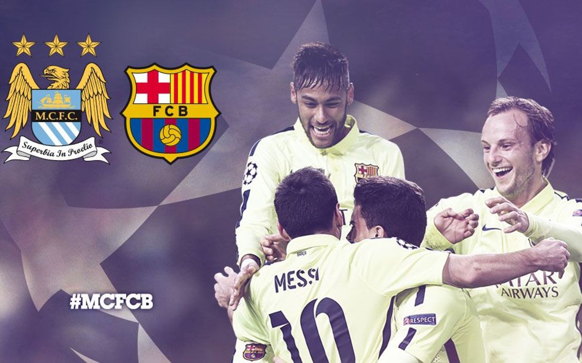Match Preview: Manchester City v FC Barcelona