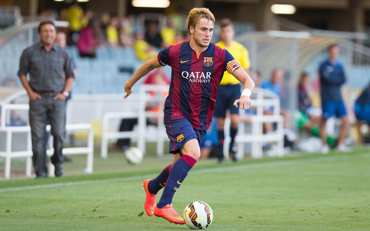 Barça B – Llagostera: Derrota al descompte (1-2)