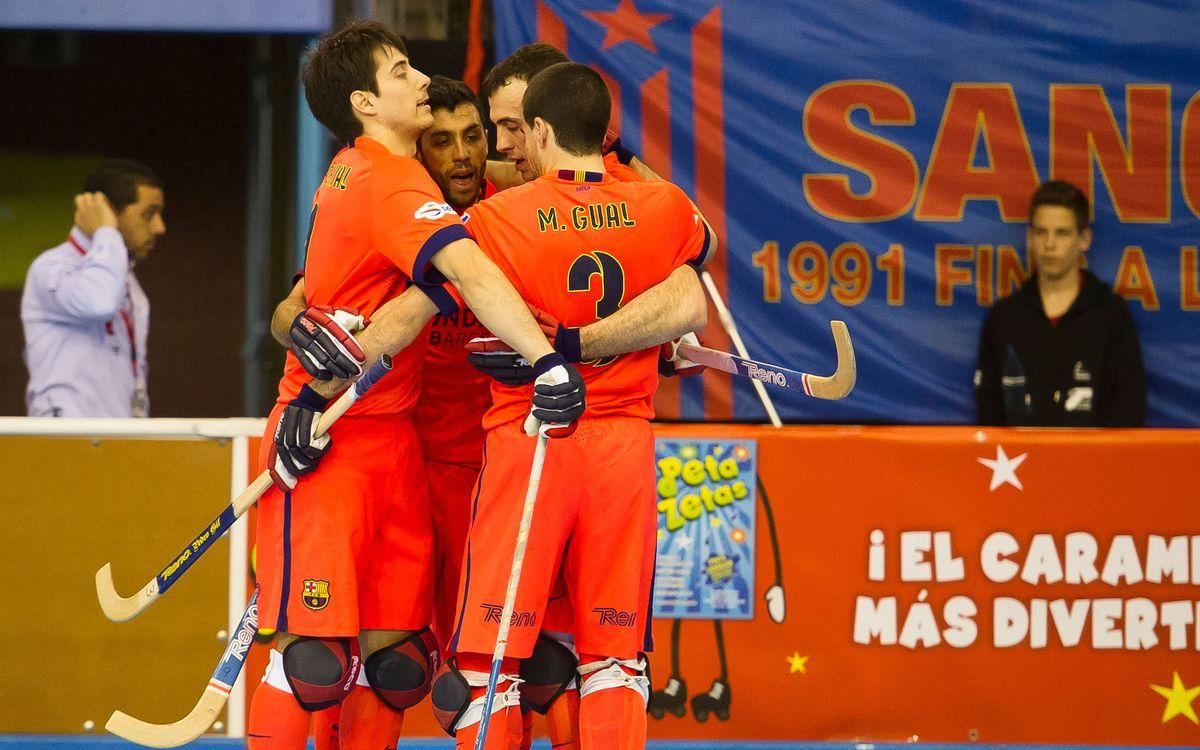 FC Barcelona v Enrile Pas Alcoi: Into the semis (3-2)