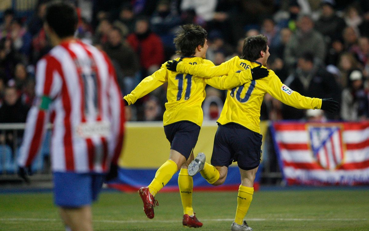 FC Barcelona and Atlético Madrid have a history high scoring affairs