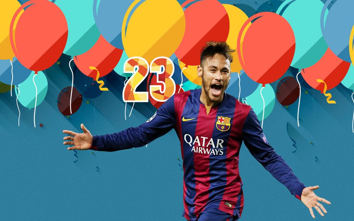 Wish Neymar Jr a happy birthday!