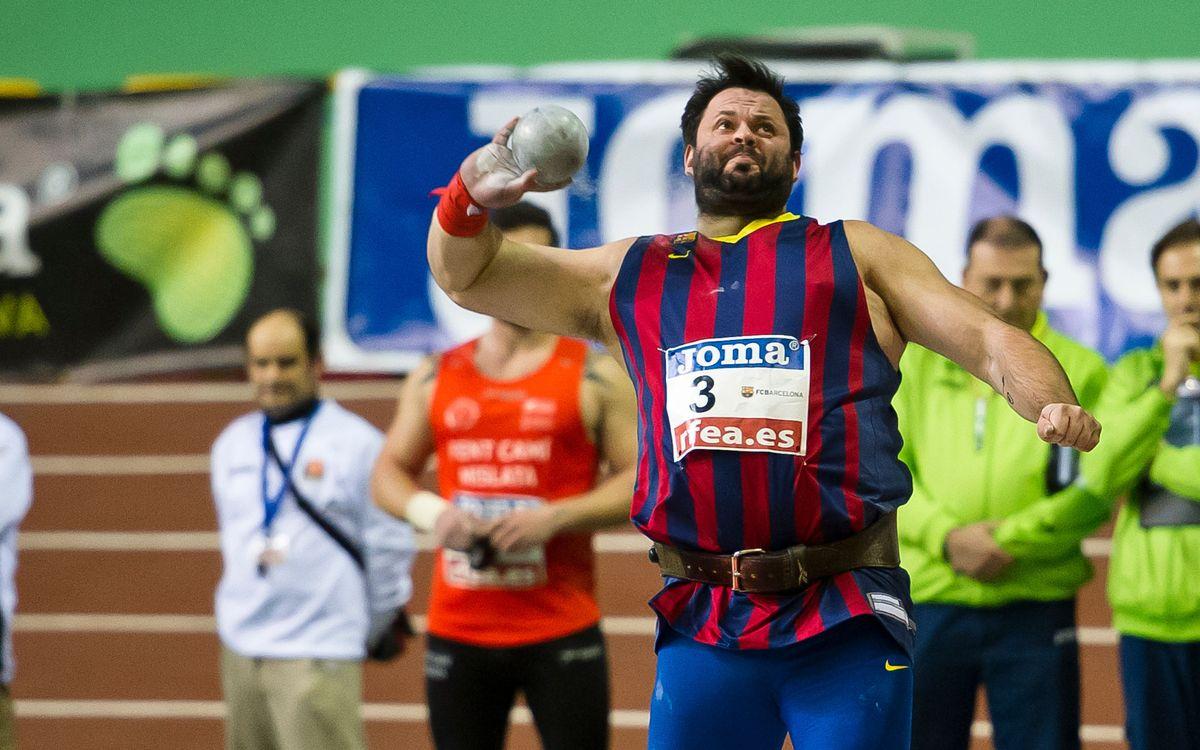 El Barça envia set atletes al Campionat d'Europa de Llançaments