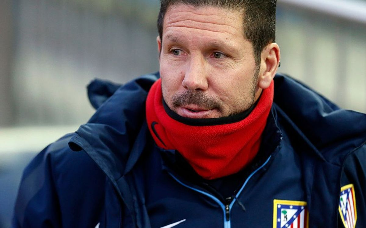 Diego Simeone: Playing FC Barcelona makes you a better team