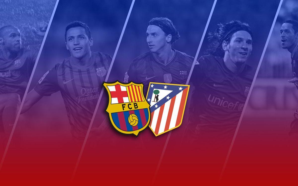 TOP5: Millors gols contra l'Atlètic de Madrid al Camp Nou