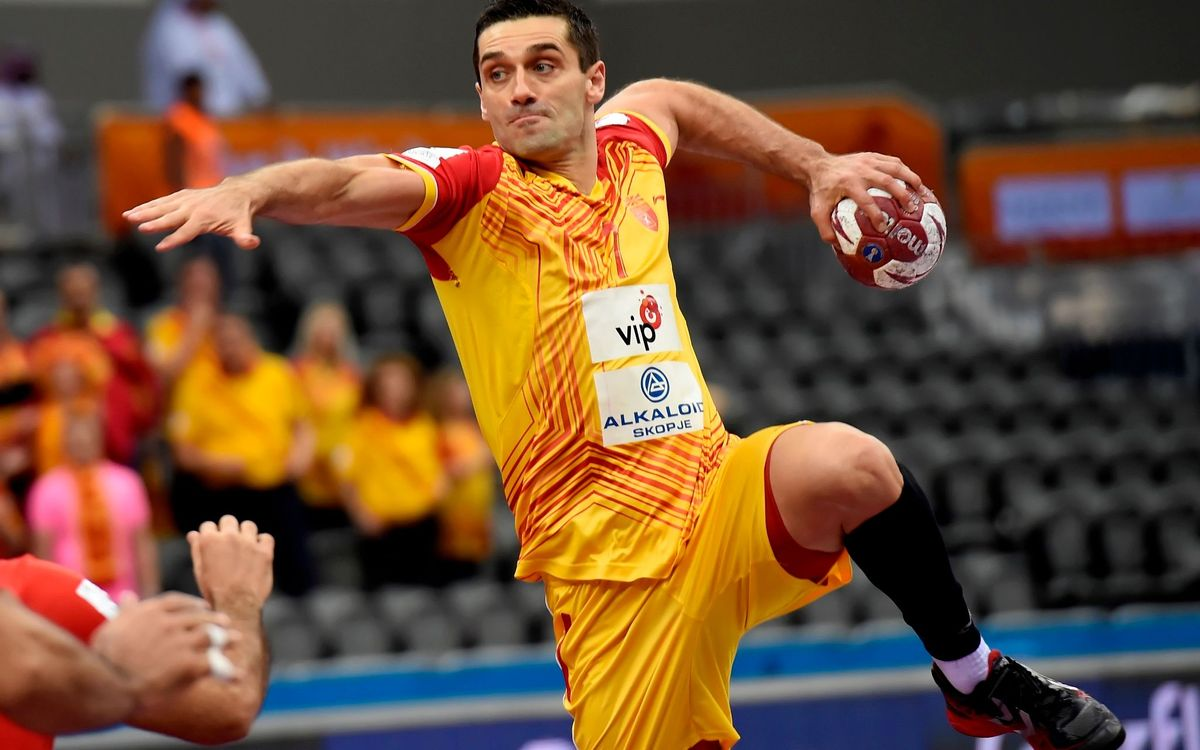 El blaugrana Kiril Lazarov lidera a Macedònia