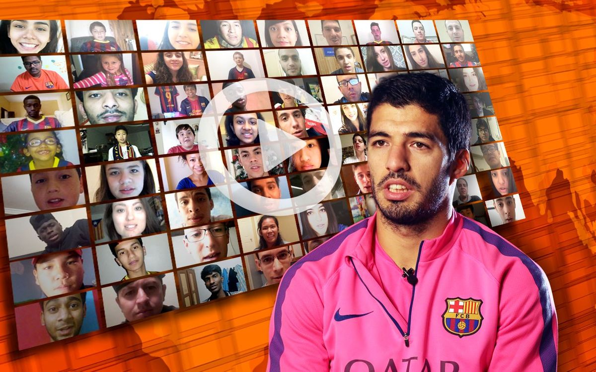 Thanks for your questions to Luis Suárez!