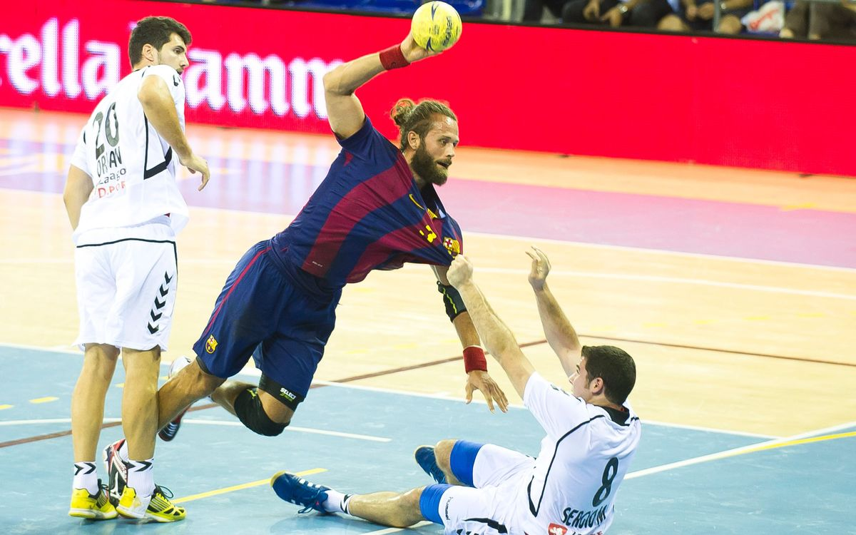 FC Barcelona take care of business with 29–25 win at Besiktas Istanbul