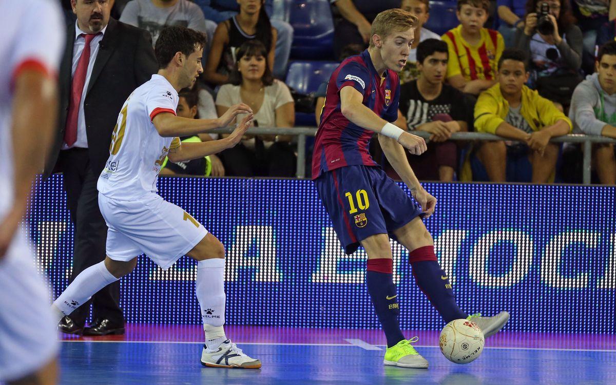 El Barça vol continuar la ratxa guanyadora a Santa Coloma