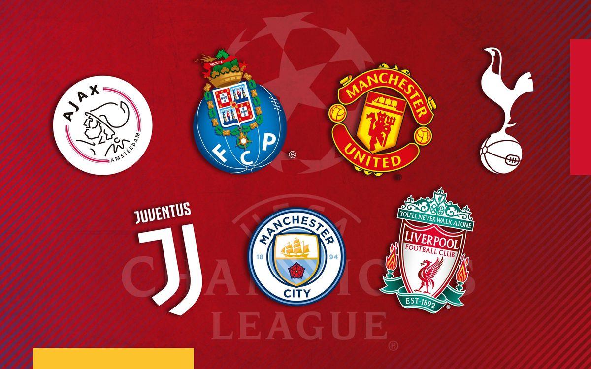 Quin rival vols per al Barça als quarts de Champions?