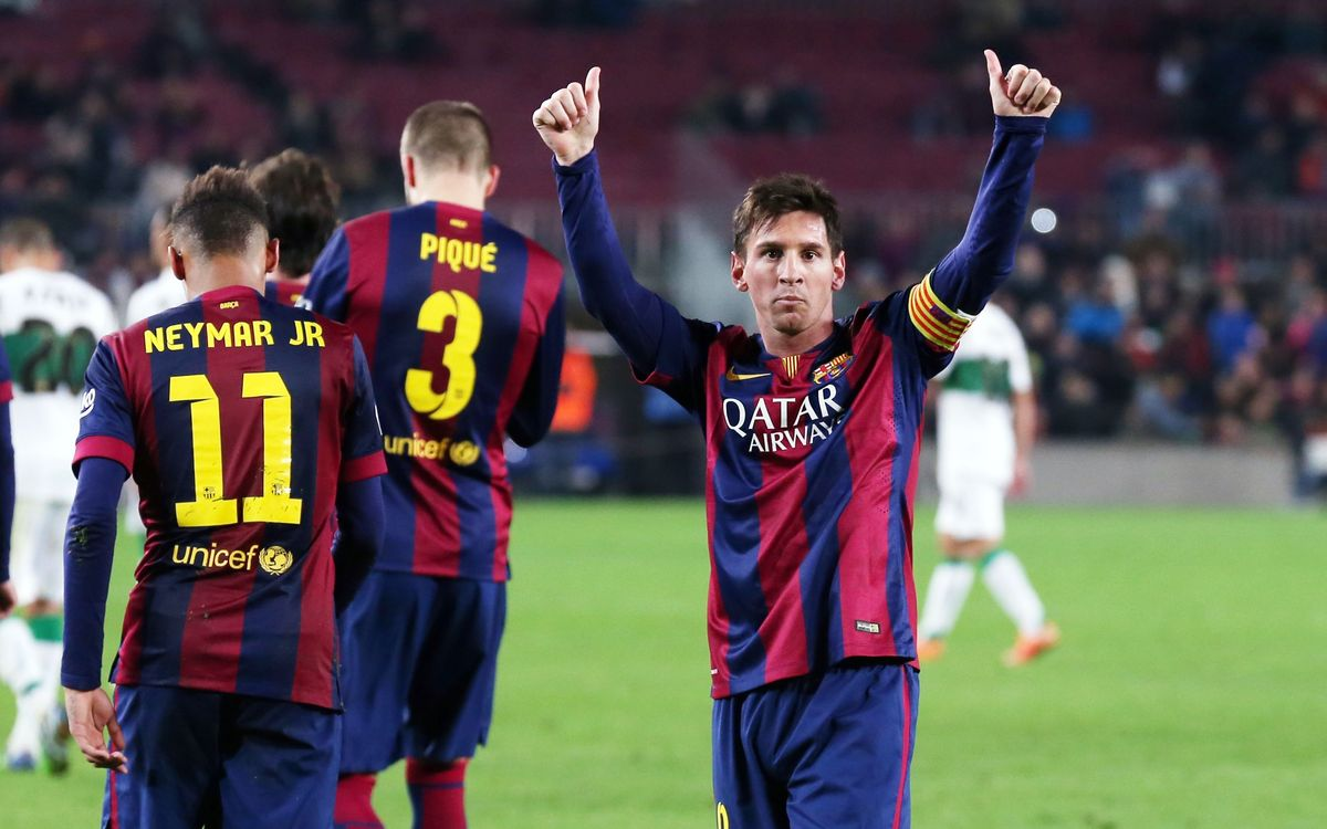 FC Barcelona v Elche CF: Five star performance (5-0)