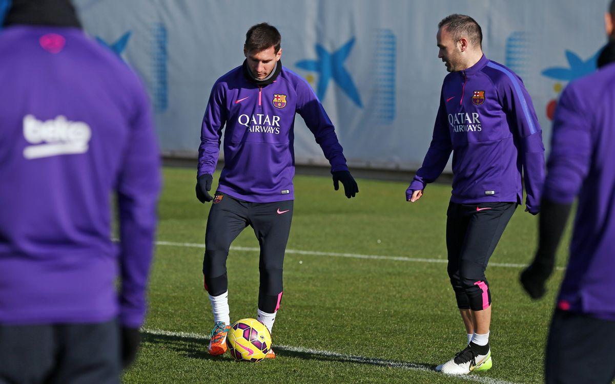 FC Barcelona bringing 18 to Elche