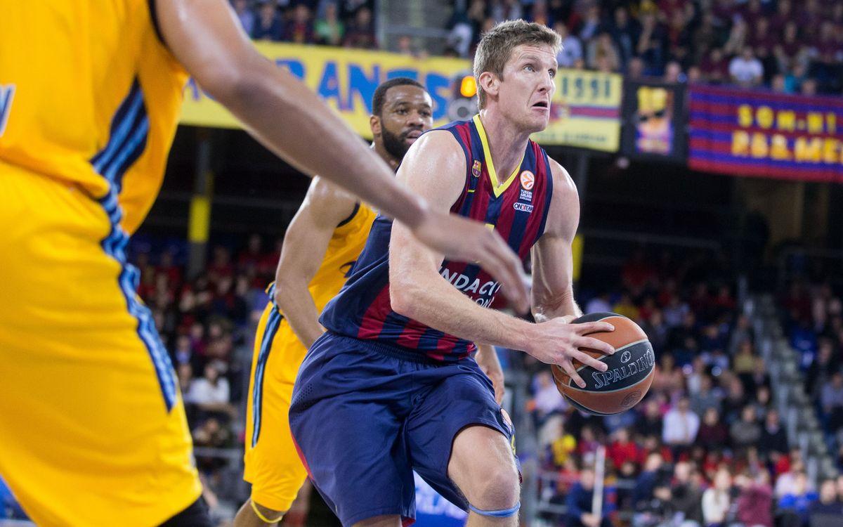 FC Barcelona fend off late surge, top Alba Berlin 92–82 in OT