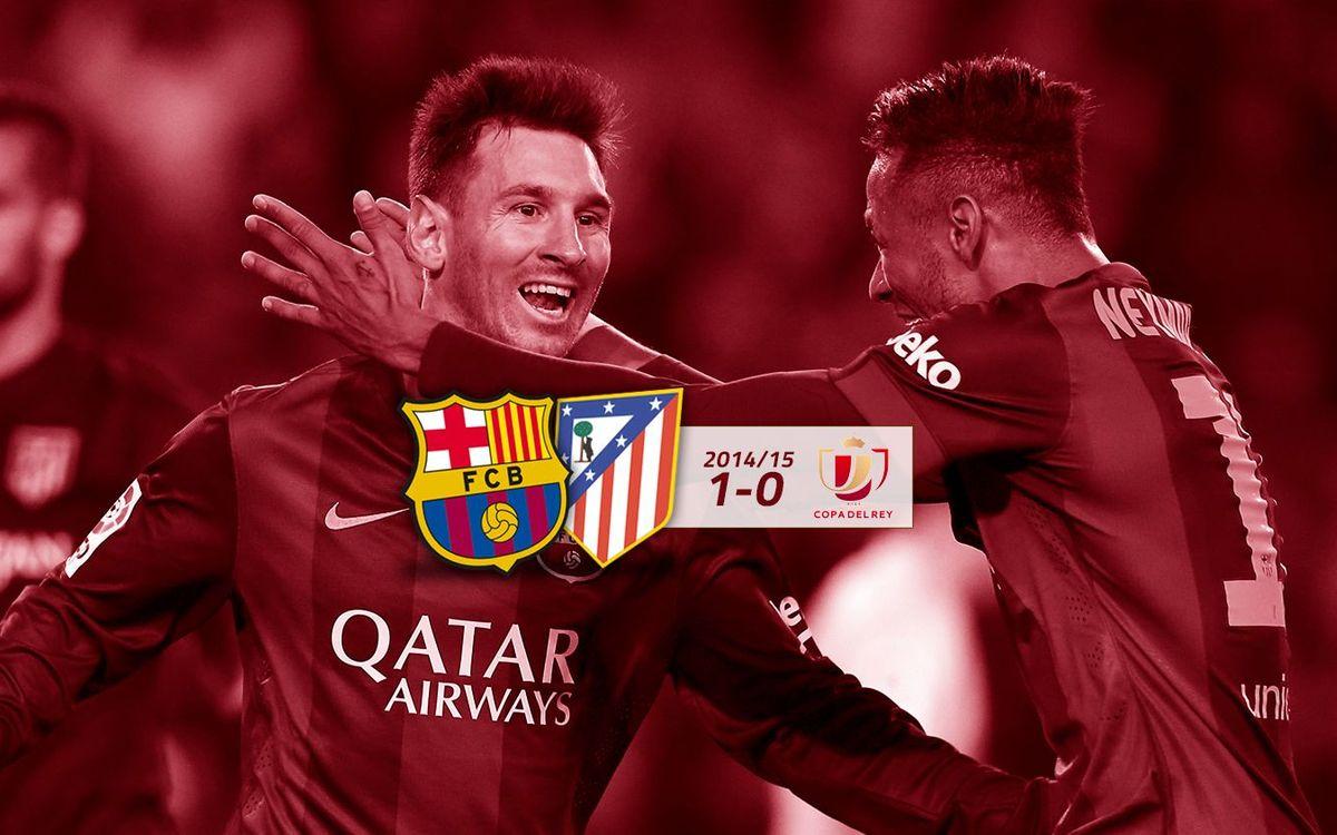 FC Barcelona: 1 - Atlètic de Madrid: 0