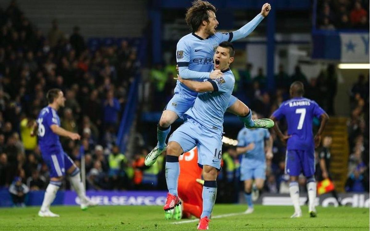 Manchester City draw 1–1 at Stamford Bridge