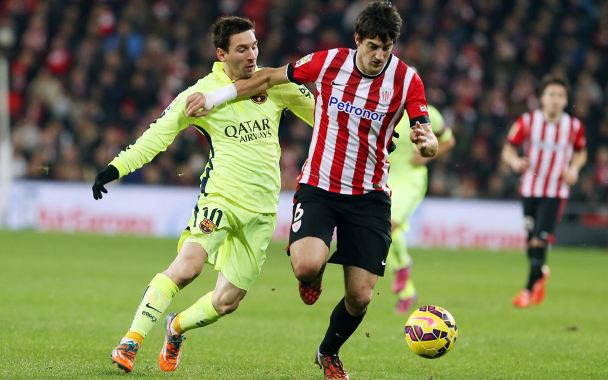 Photo Gallery: Athletic Club Bilbao v FC Barcelona