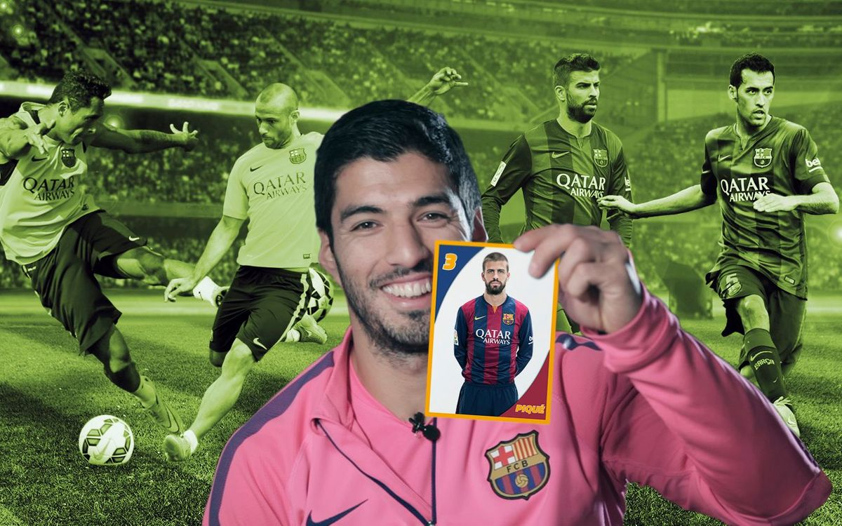 Luis Suárez: Els meus companys