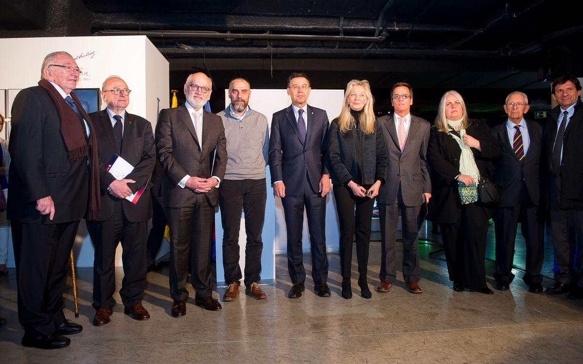Obertura de l'Any Suñol i inauguració de l'espai permanent al Museu del Club