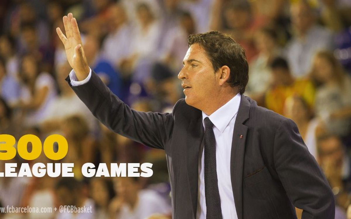 Xavi Pascual set to reach 300 Lliga Endesa games