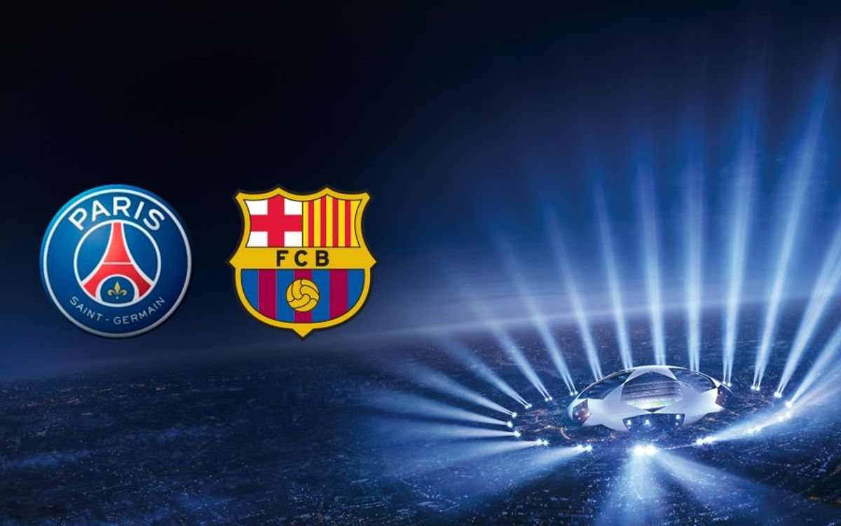 Barça to play PSG in Champions League quarters