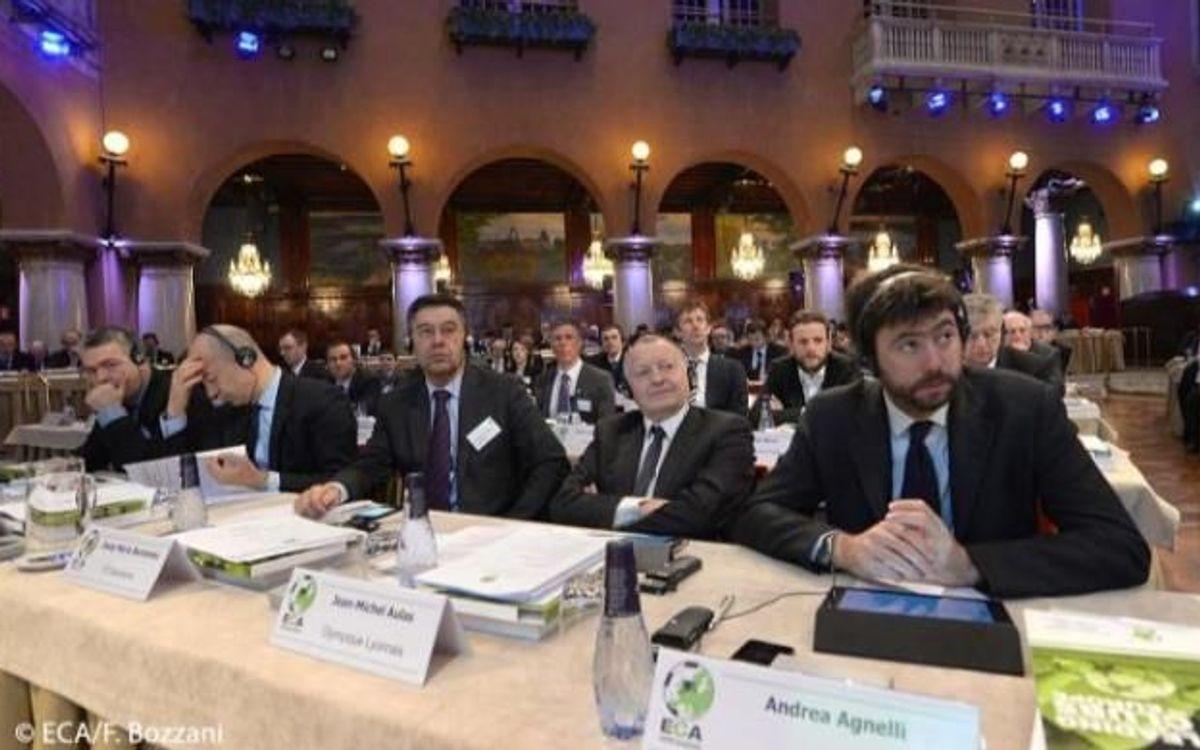 L'ECA disposarà de dos seients al Comitè Executiu de la UEFA