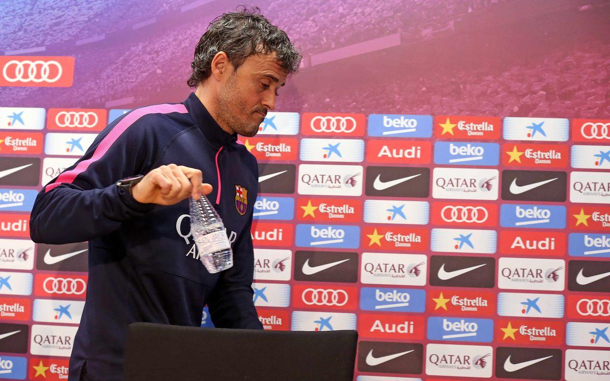 Luis Enrique cautious about Granada