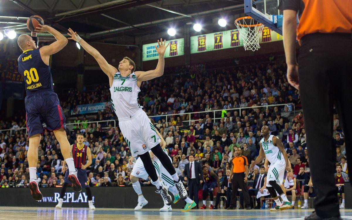 Eurolliga: vuit partits, vuit reptes per al Barça de bàsquet