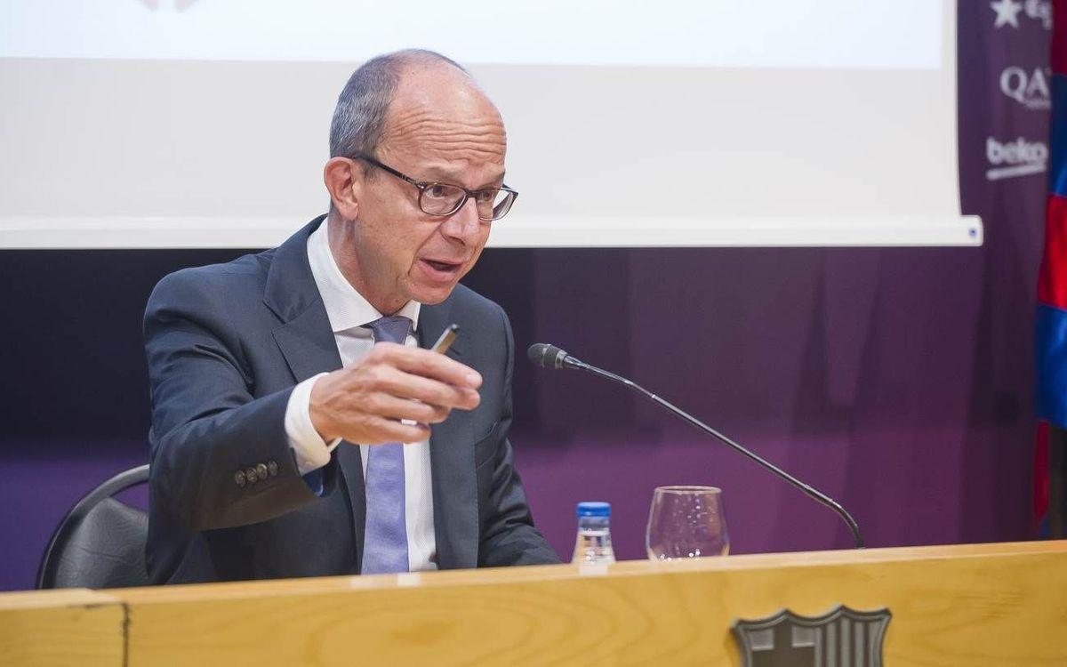 EN DIRECTE: Roda de premsa del vicepresident segon del FC Barcelona, Jordi Cardoner