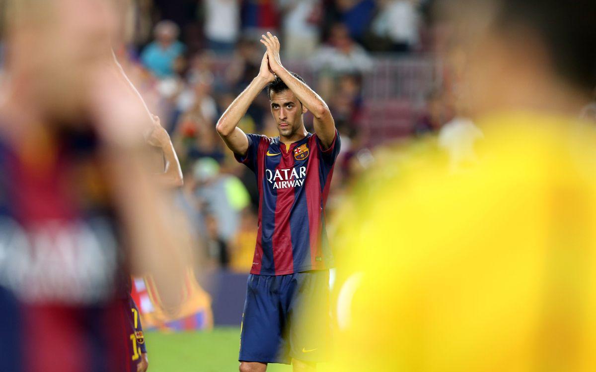 Sergio Busquets extends contract till 2019