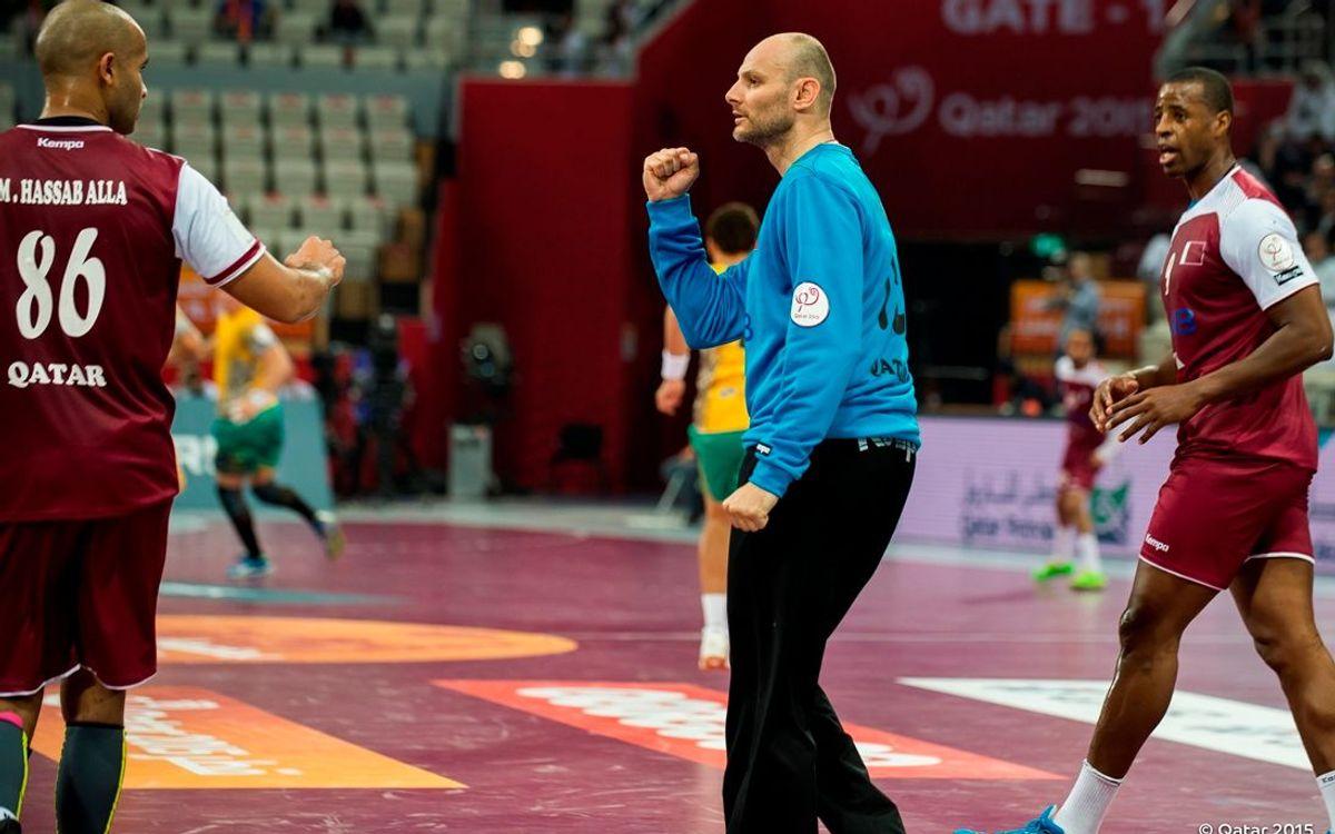 Kiril Lazarov i Danjel Saric, als vuitens de final