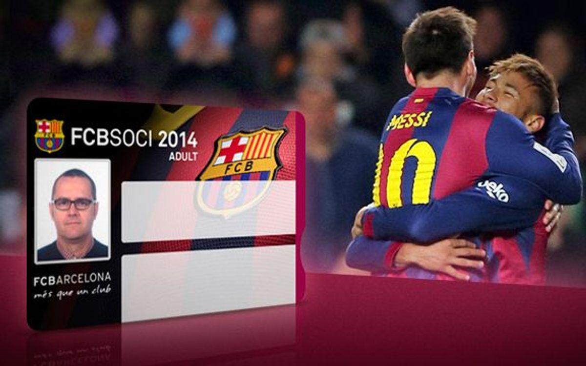 FC Barcelona – Màlaga, últim partit amb el carnet de soci 2014
