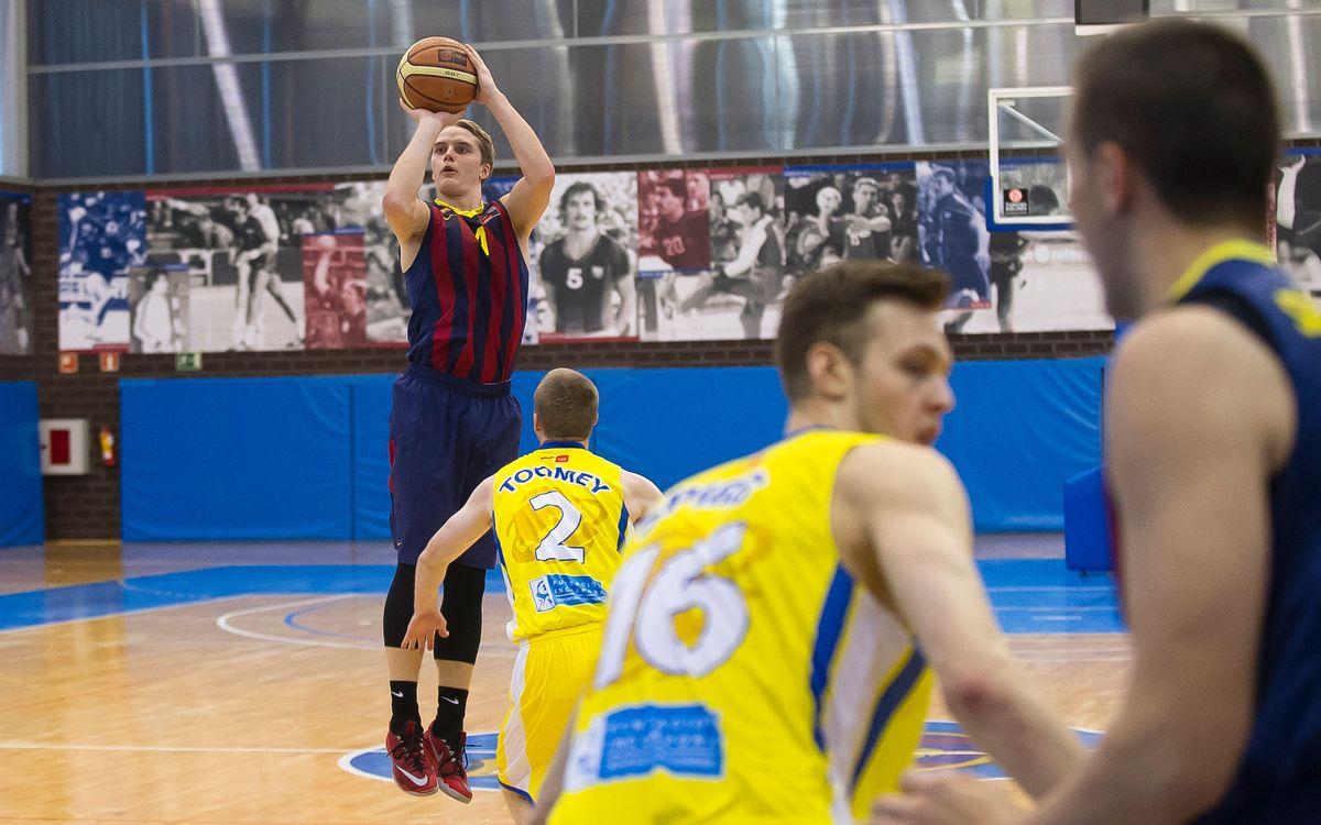 El Barça B torna al camí del triomf