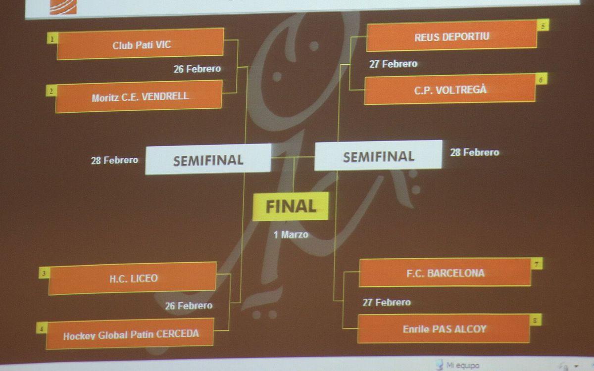L'Alcoi, el rival a quarts de final de la Copa del Rei d'hoquei patins