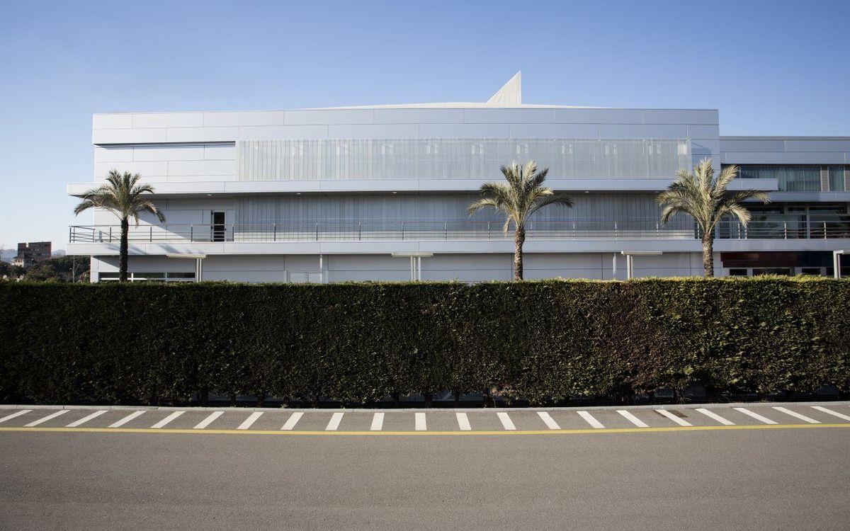 DIRECTE - Inauguració dels nous pavellons de seccions a la Ciutat Esportiva Joan Gamper