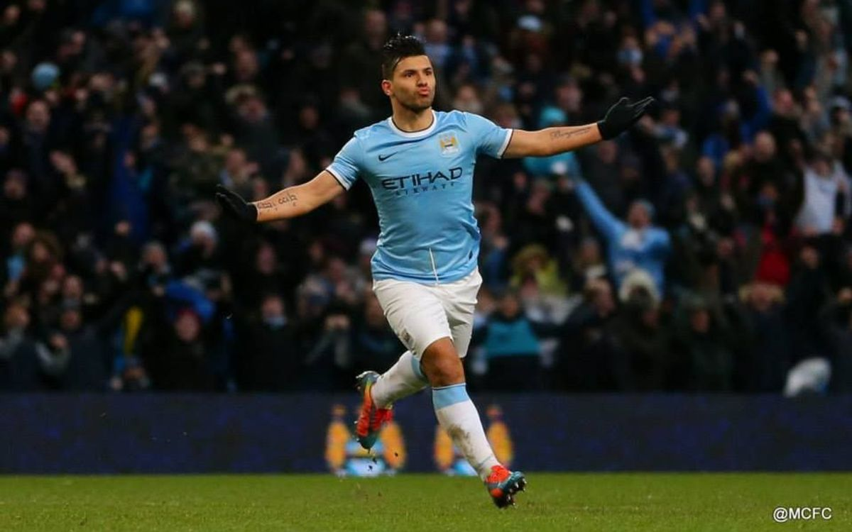City's Aguero to miss FC Barcelona clash