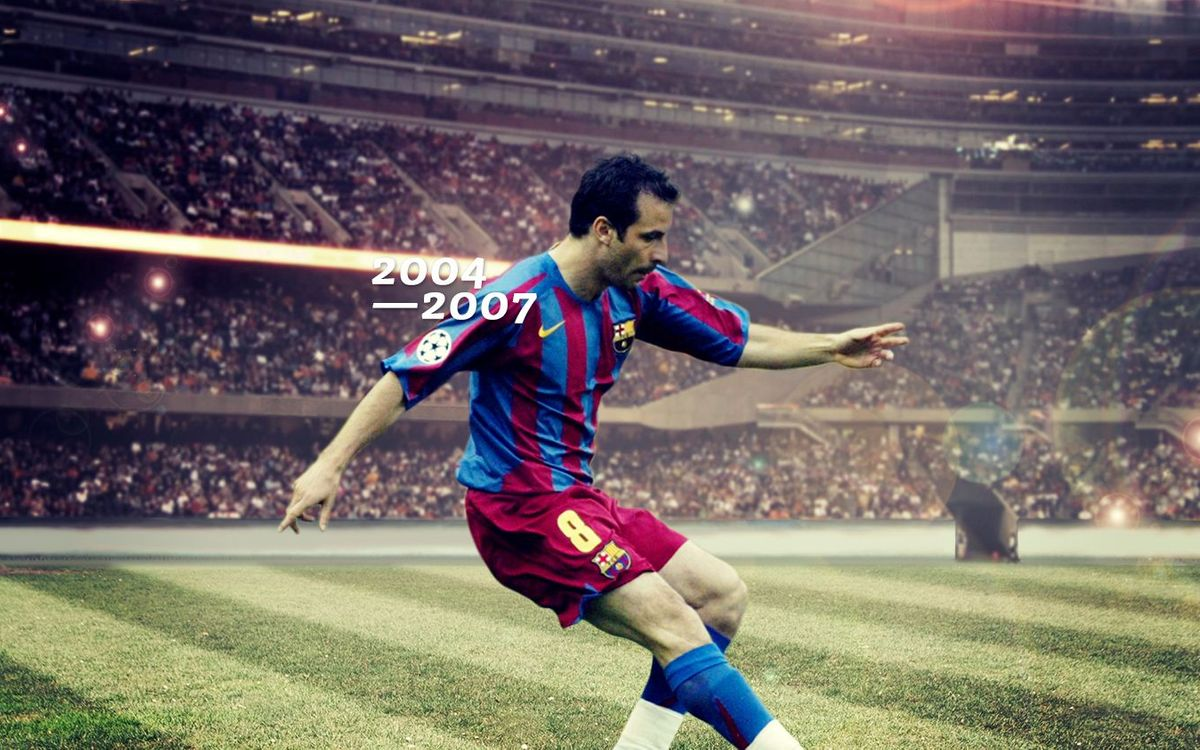 Ludovic Giuly's goals