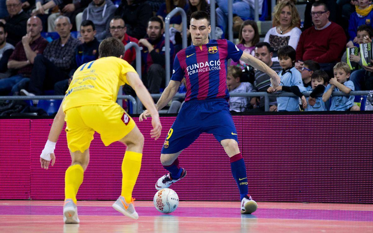 FC Barcelona – Aspil-Vidal Ribera Navarra: Inicien el camí cap a la quarta Copa d'Espanya