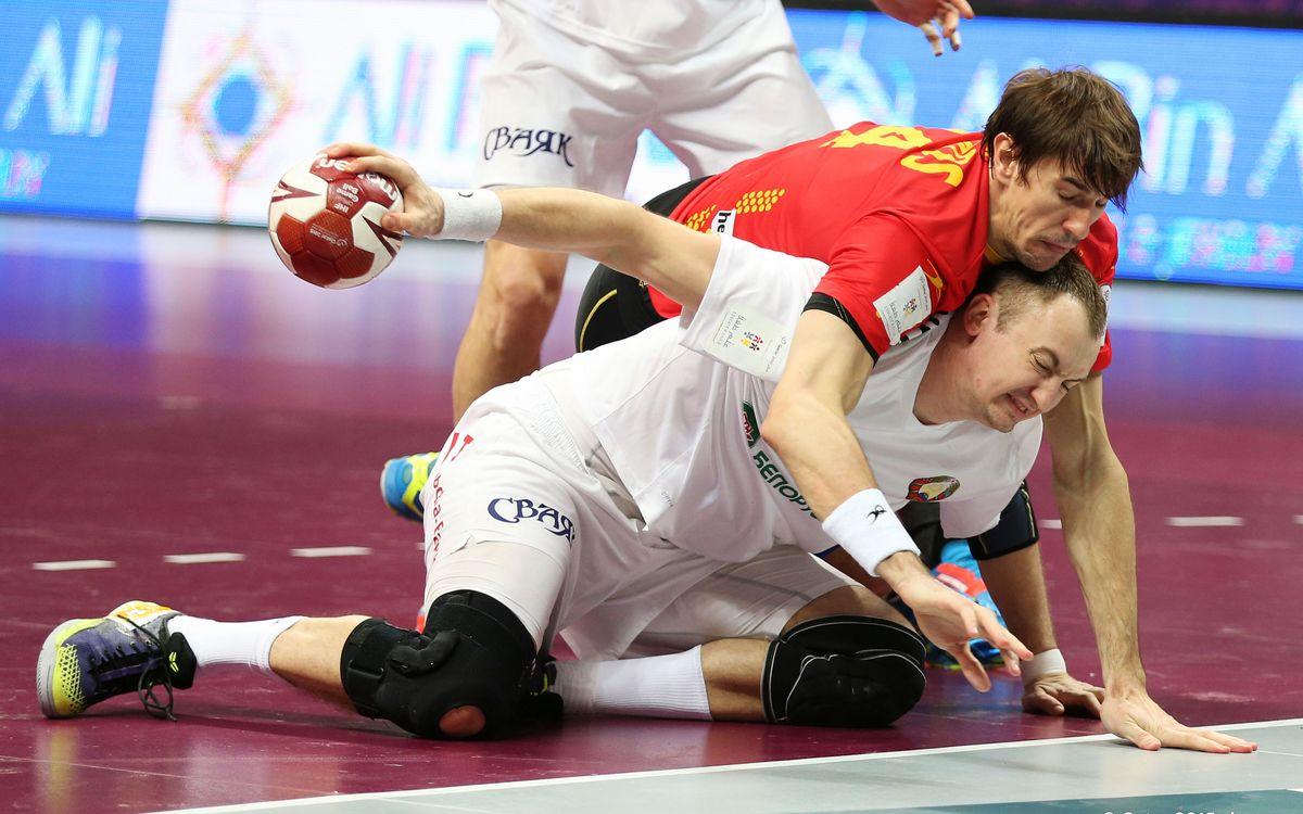 Espanya i Macedònia guanyen en els duels blaugrana